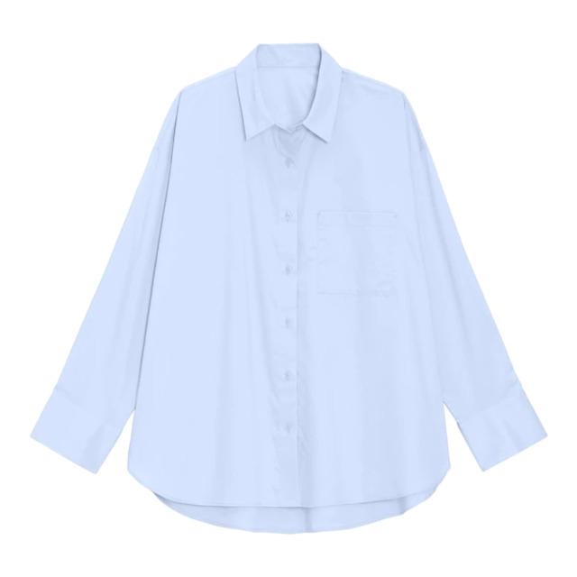 オーバーサイズロングシャツ(長袖)