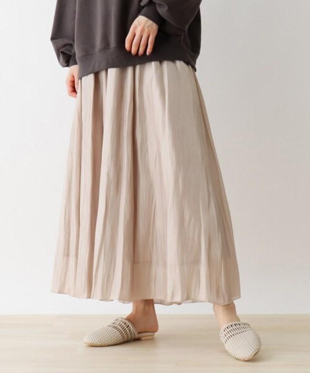 シャイニーロングスカート
