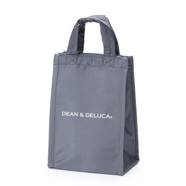 DEAN & DELUCA クーラーバッグ グレーS