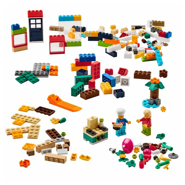 BYGGLEK ビッグレク レゴ®ブロック201ピースセット