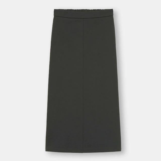 ダブルフェイスナロースカート