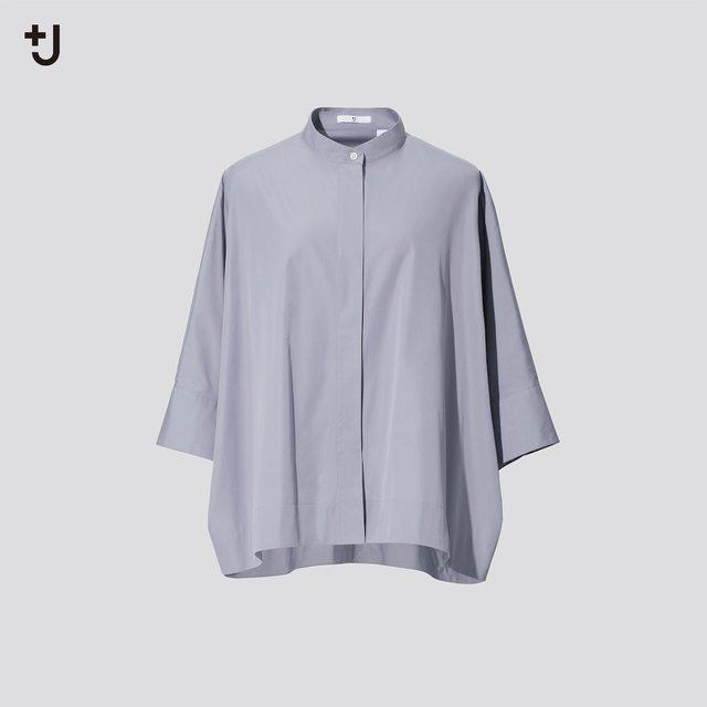 スーピマコットンドルマンスリーブシャツ