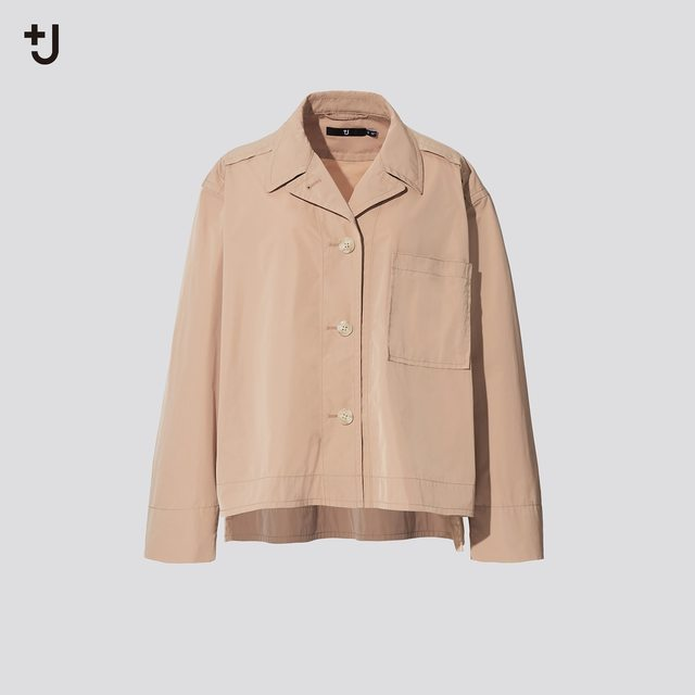 オーバーサイズシャツジャケット