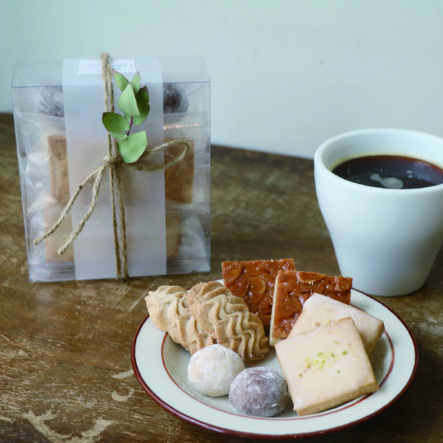 コーヒーのともだち 4種クッキー詰め合わせ