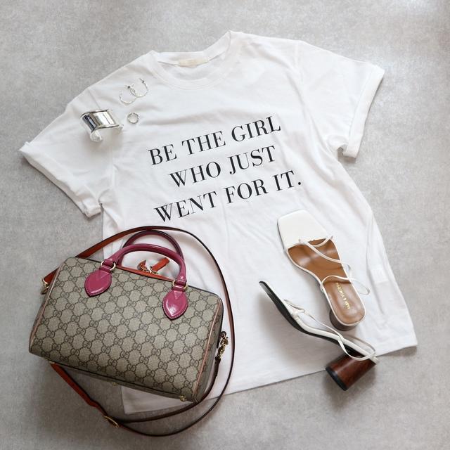レタリング Tシャツ