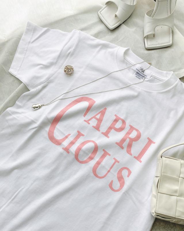 CAPRICIOUS T-shirt・PINK