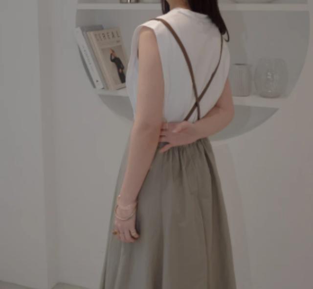 vintage skirt ヴィンテージサスペンダースカート