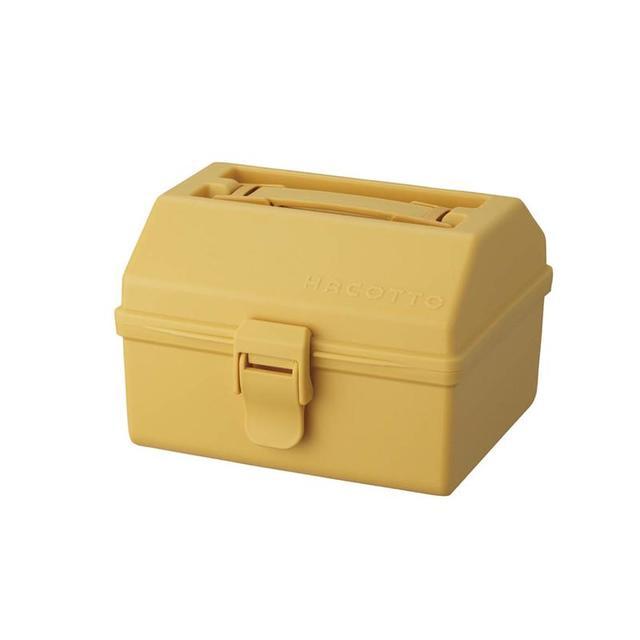 レトロカラーの小物収納ボックス HACOTTO