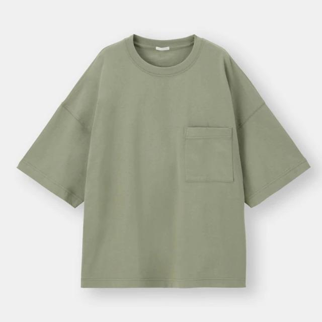 ワイドフィットT(5分袖)