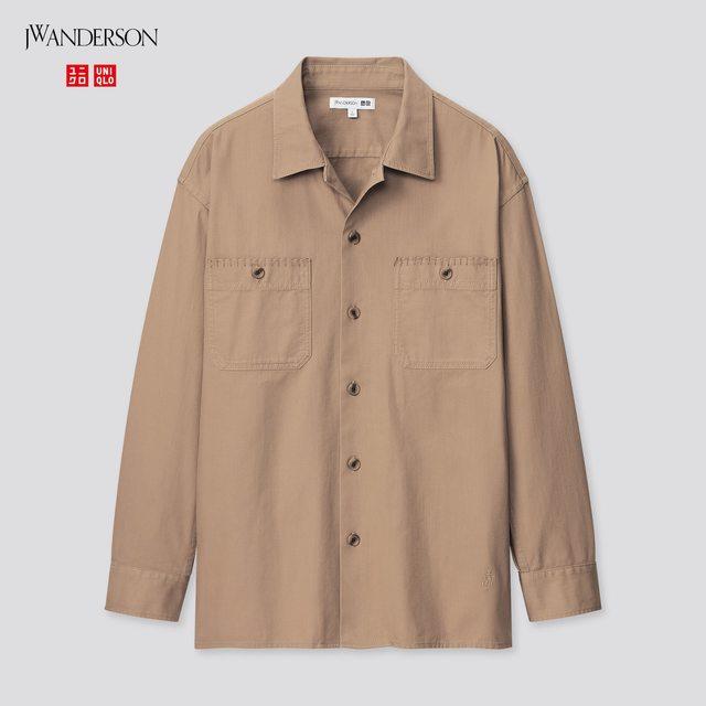 ツイルオーバーサイズワークシャツ(長袖)