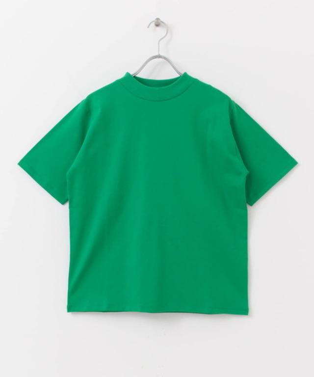 オーガニックコットンハイネックTシャツ