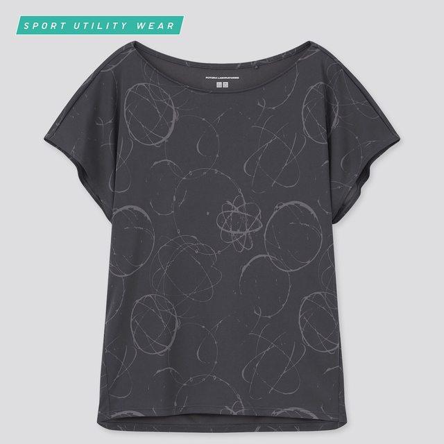 フューチュラ ドライEXプリントクルーネックTシャツ(半袖)