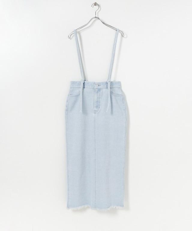 デニムサスツキタイトスカート