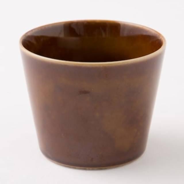 フリーカップ カル:エクレ(飴釉)