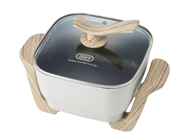 Toffy コンパクトマルチ電気鍋