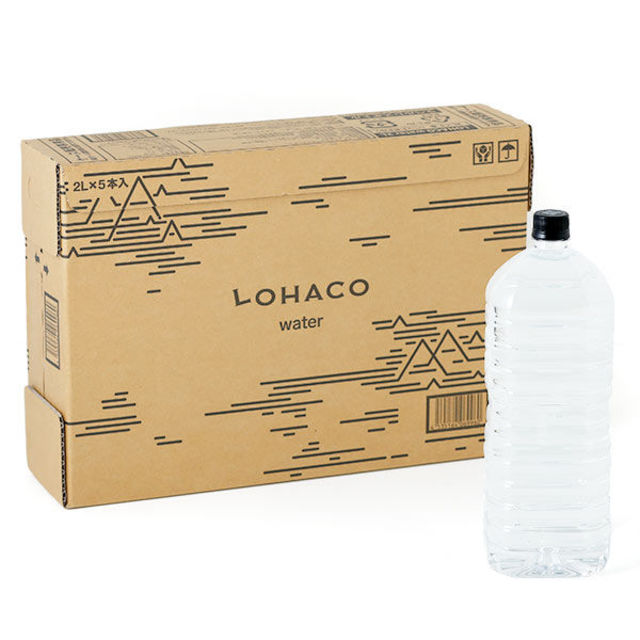 LOHACO Water 2L(5本入り)