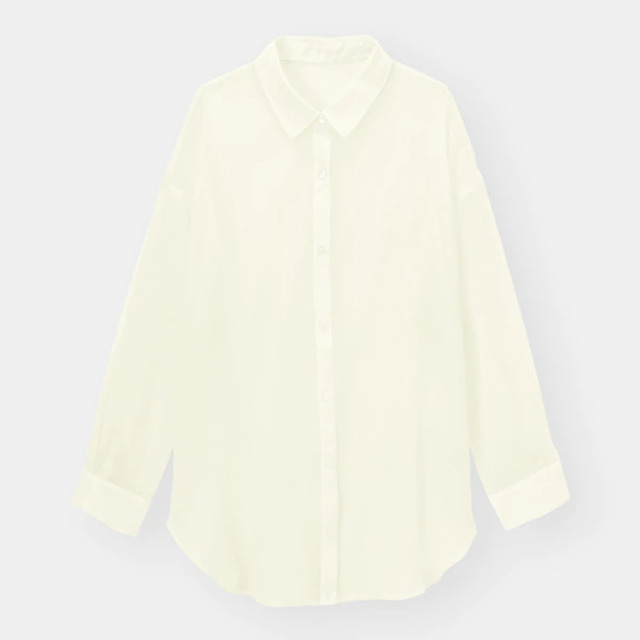シアーロングシャツ(長袖)