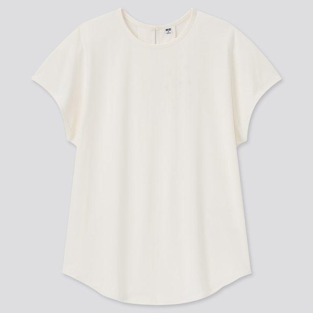 クレープジャージーフレンチスリーブTシャツ(半袖)