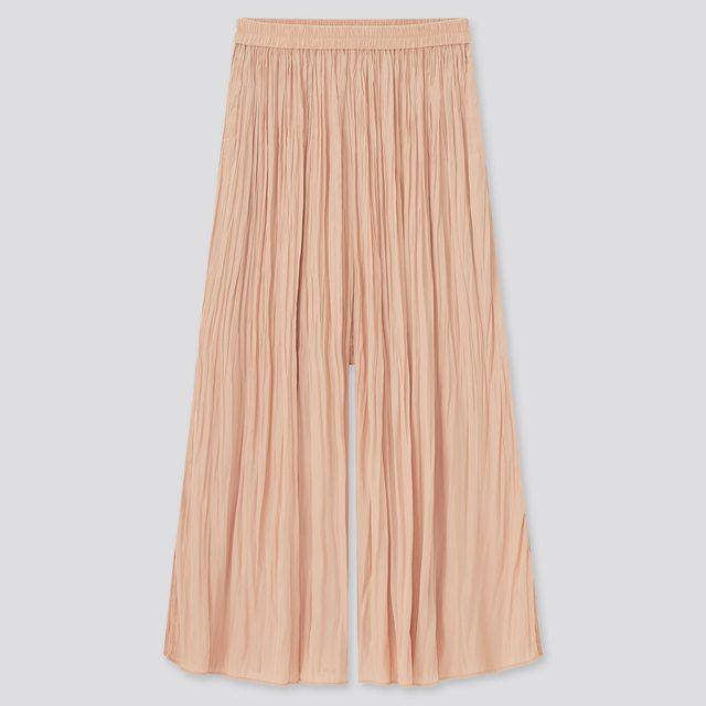 ワッシャーサテンスカートパンツ(丈標準45cm~49㎝)