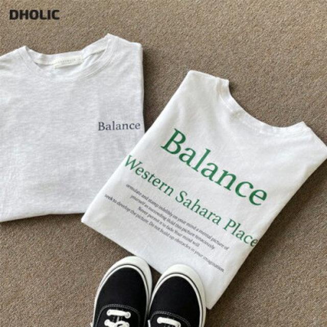 BalanceボクシーTシャツ