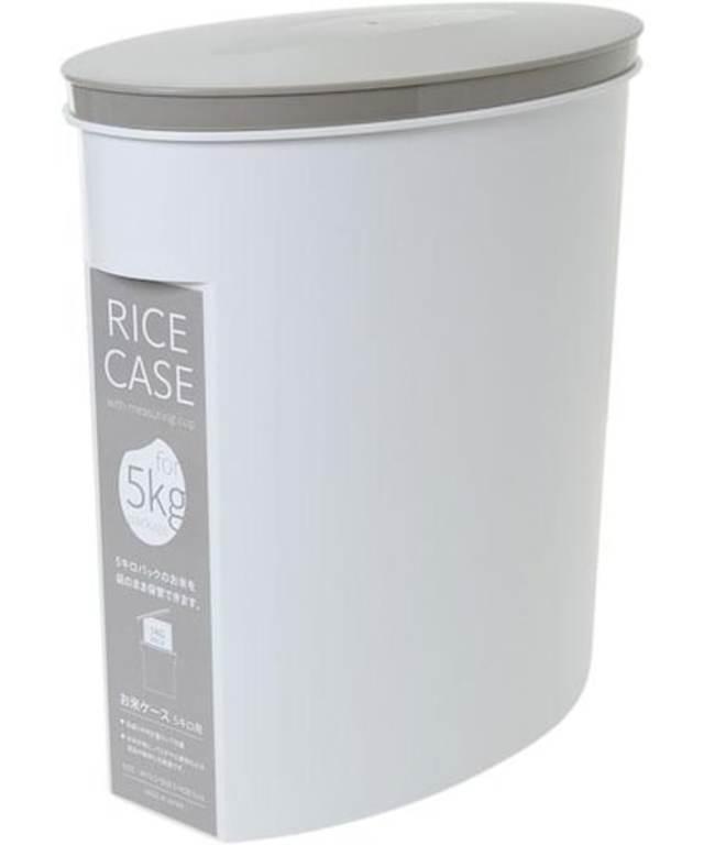 米びつ(オコメブクロソノママホゾンケース5kg WH)