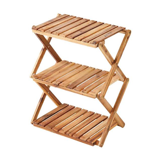 CSクラシックス 木製3段MOVEラック