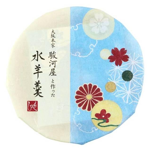 大阪本家駿河屋と作った水羊羹