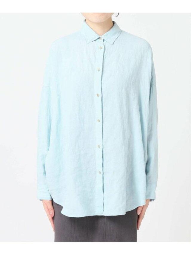 リネンビッグシャツ2