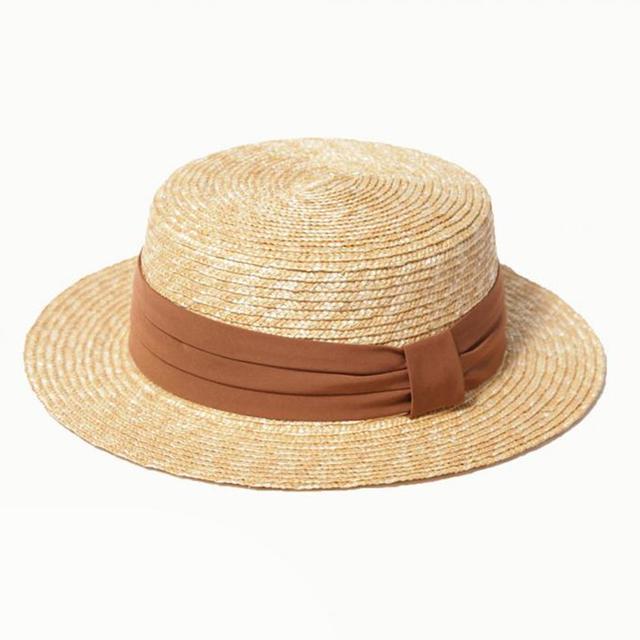麦ブレードカンカン帽
