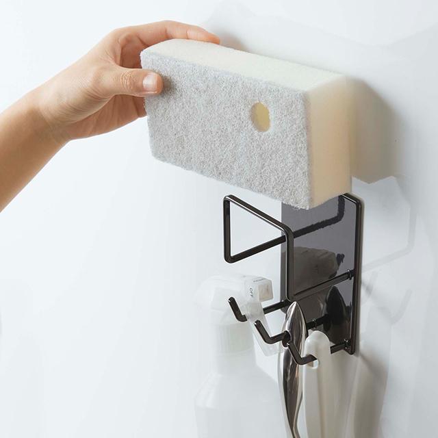 マグネットバスルームクリーニングツールホルダー