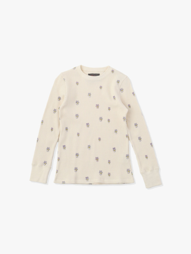 Sumire Waffle Pullover