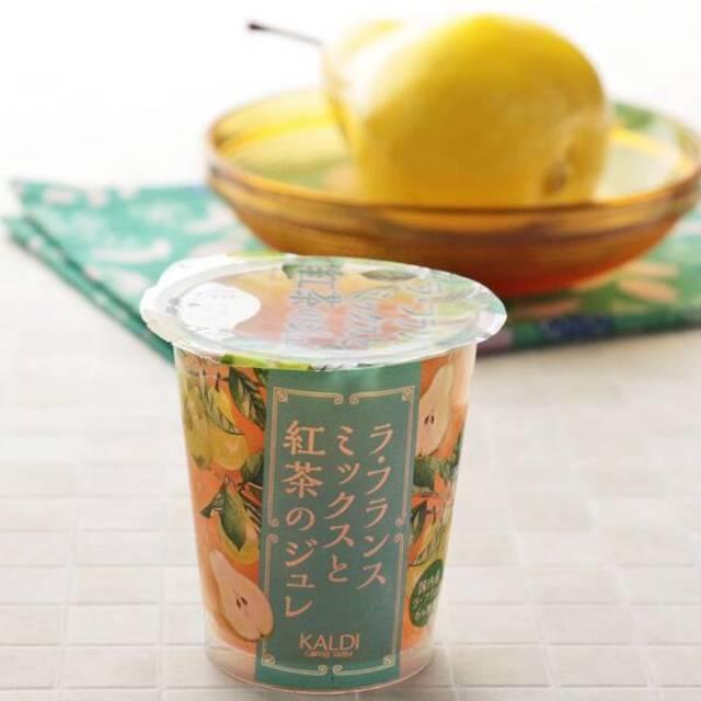 ラ・フランスミックスと紅茶のジュレ 155g