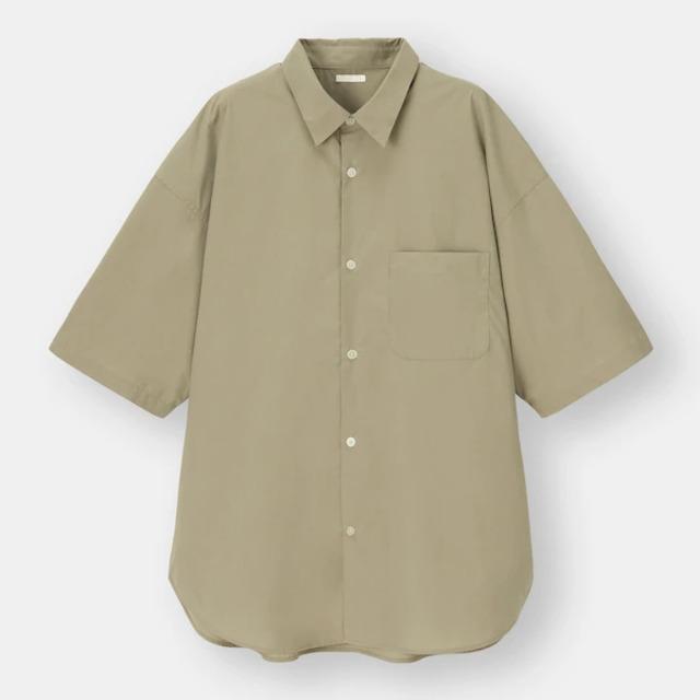 ブロードオーバーサイズシャツ(5分袖)