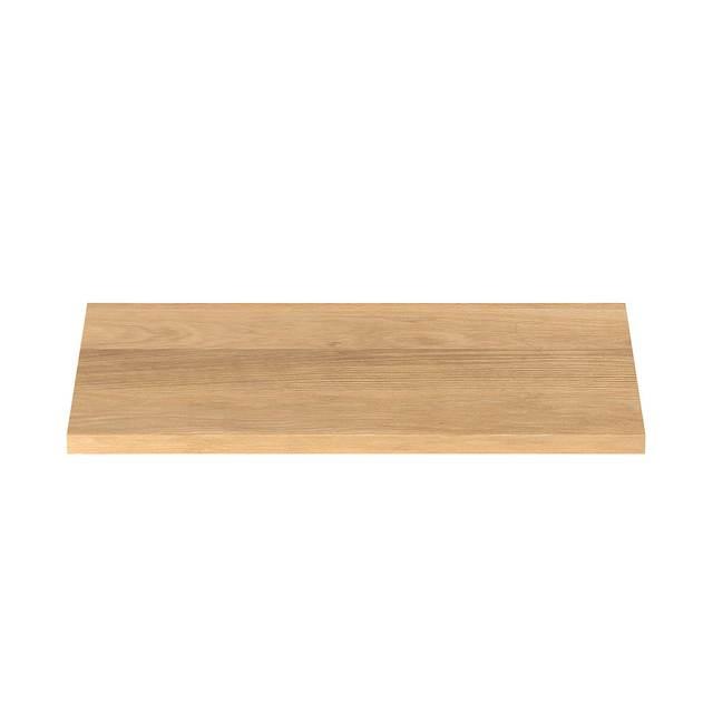 木製テーブル天板 オーク材 幅80×奥行40cm