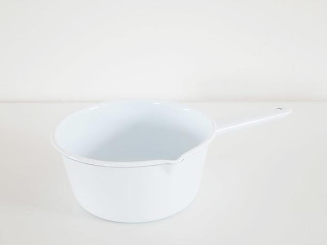 POMEL ソースパン ホワイト
