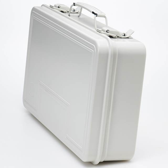 スチール工具箱3 約幅38.5×奥行22.5×高さ9.5cm