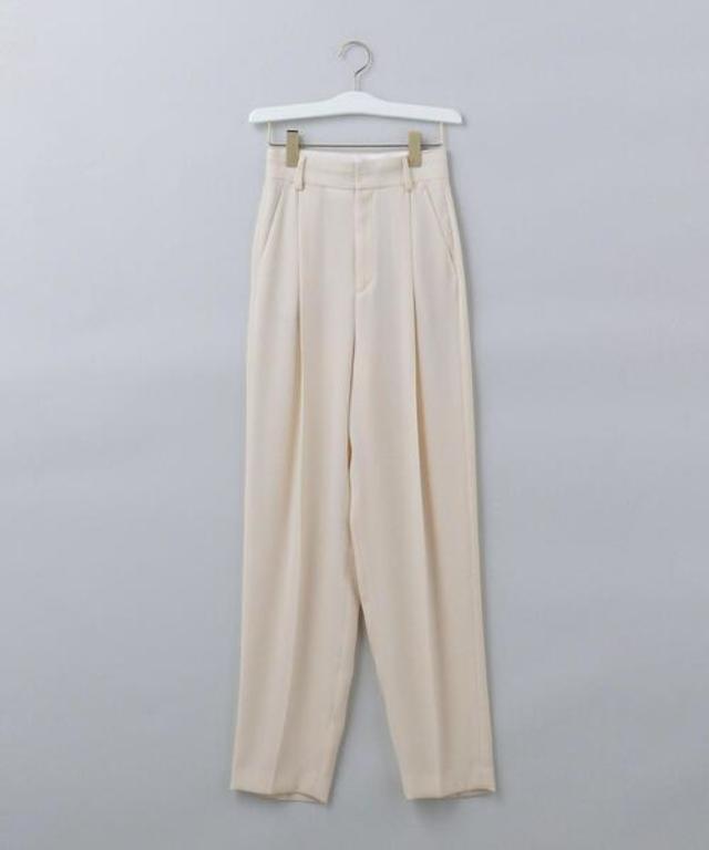 GEORGETTE TUCK PANTS 2/パンツ