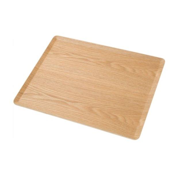 滑り止め加工 木製トレーM (ヤナギ)