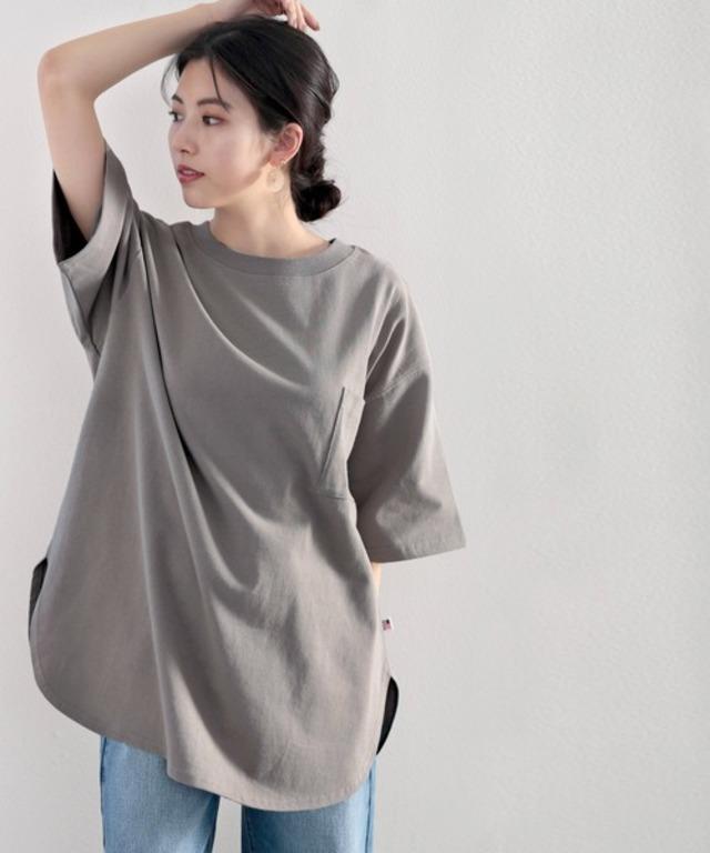 綿100%USAコットン オーバーサイズTシャツ