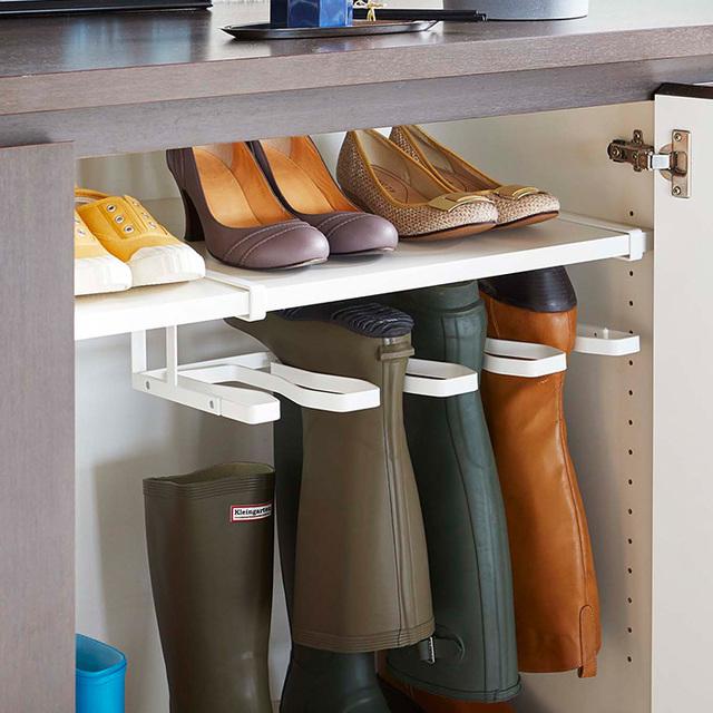 下駄箱中長靴&ブーツホルダー フレーム