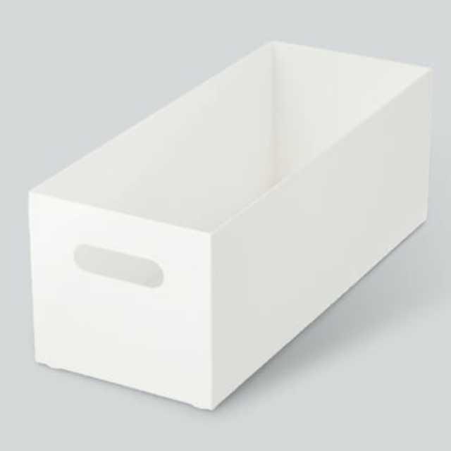 整理ボックス クラネ ロータイプ ホワイト