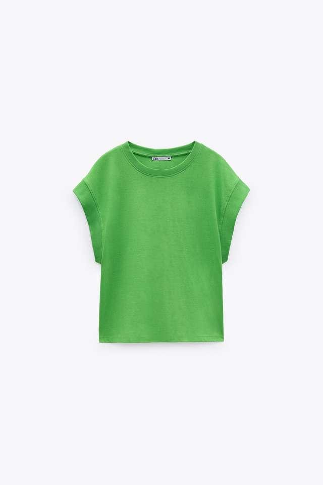 リブ編みTシャツ
