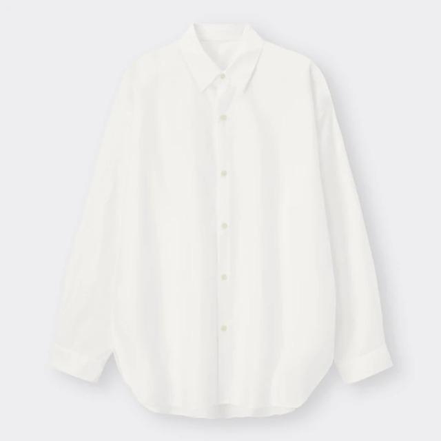 MEN スリットロングシャツ