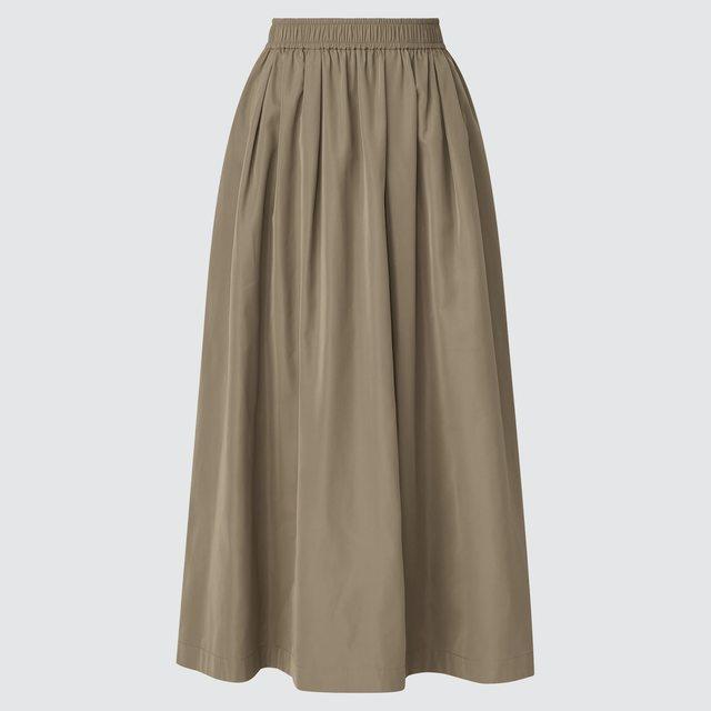 ボリュームロングスカート