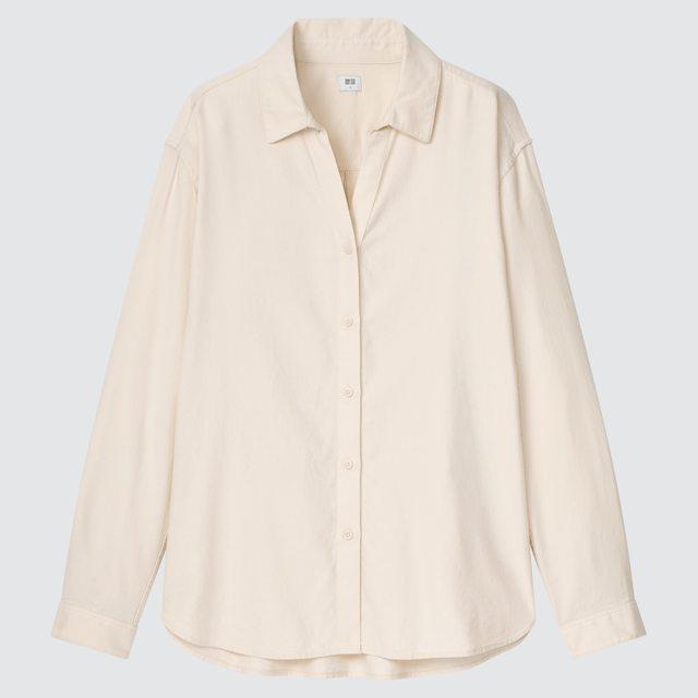 ライトフランネルシャツ(長袖)