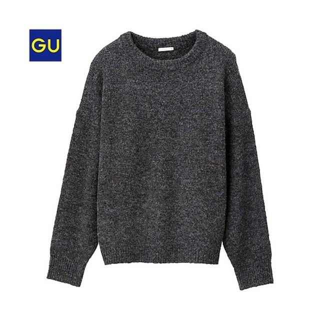 ウールブレンドクルーネックセーター