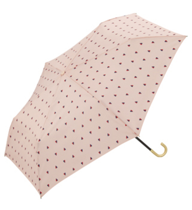 w.p.c ツインハートmini ハート  折りたたみ日傘