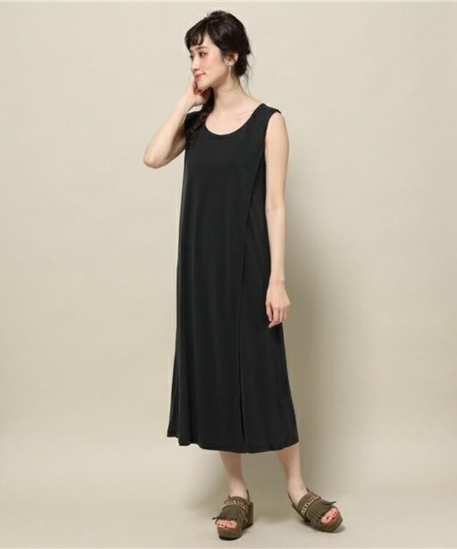ROSE BUD  SLV-LESS RONG DRESS