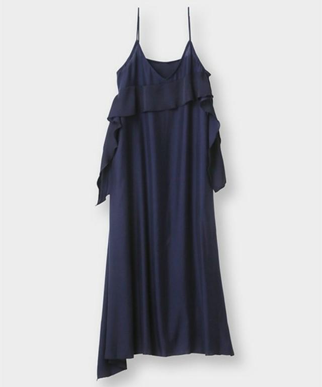 フリルキャミソール ロングドレス