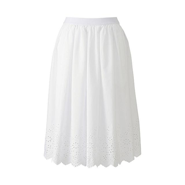 WOMEN レーススカート